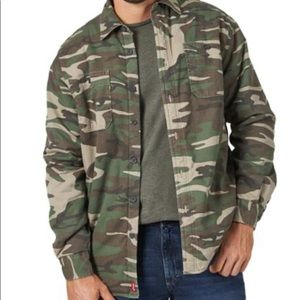 Wrangler Sherpa Lined Jacket